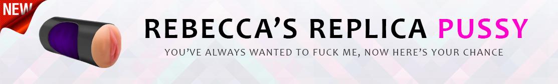rebecca love pussy