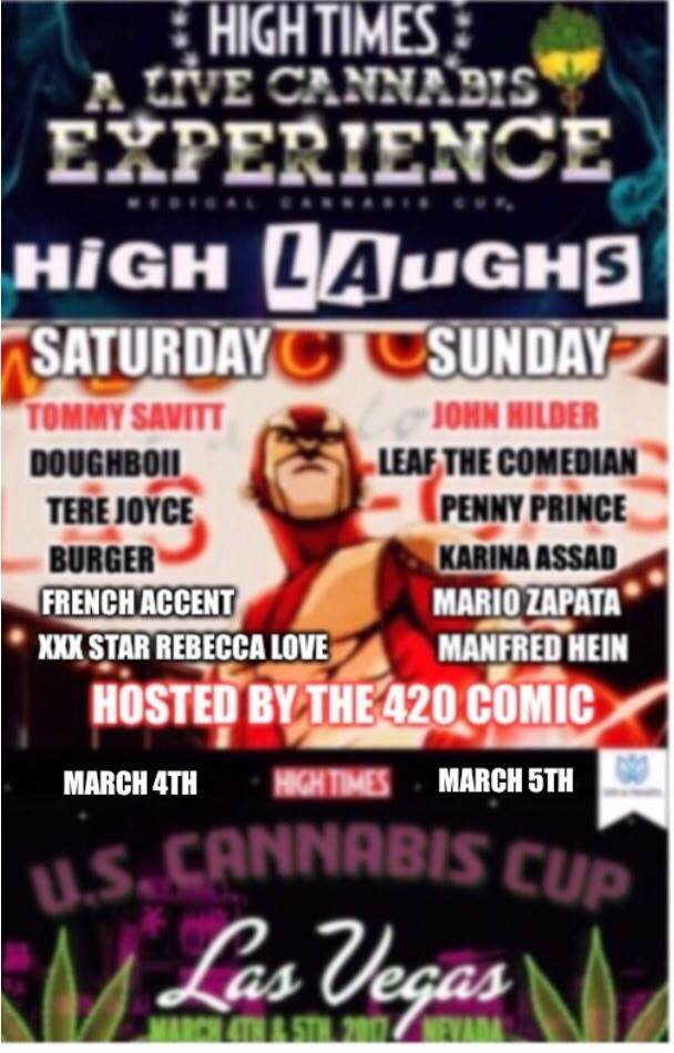 HighTimes - High Laughs - Cannabis Cup