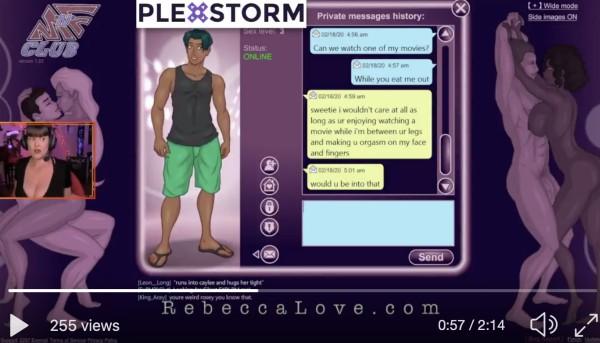 Sexually Bugged Plexstorm
